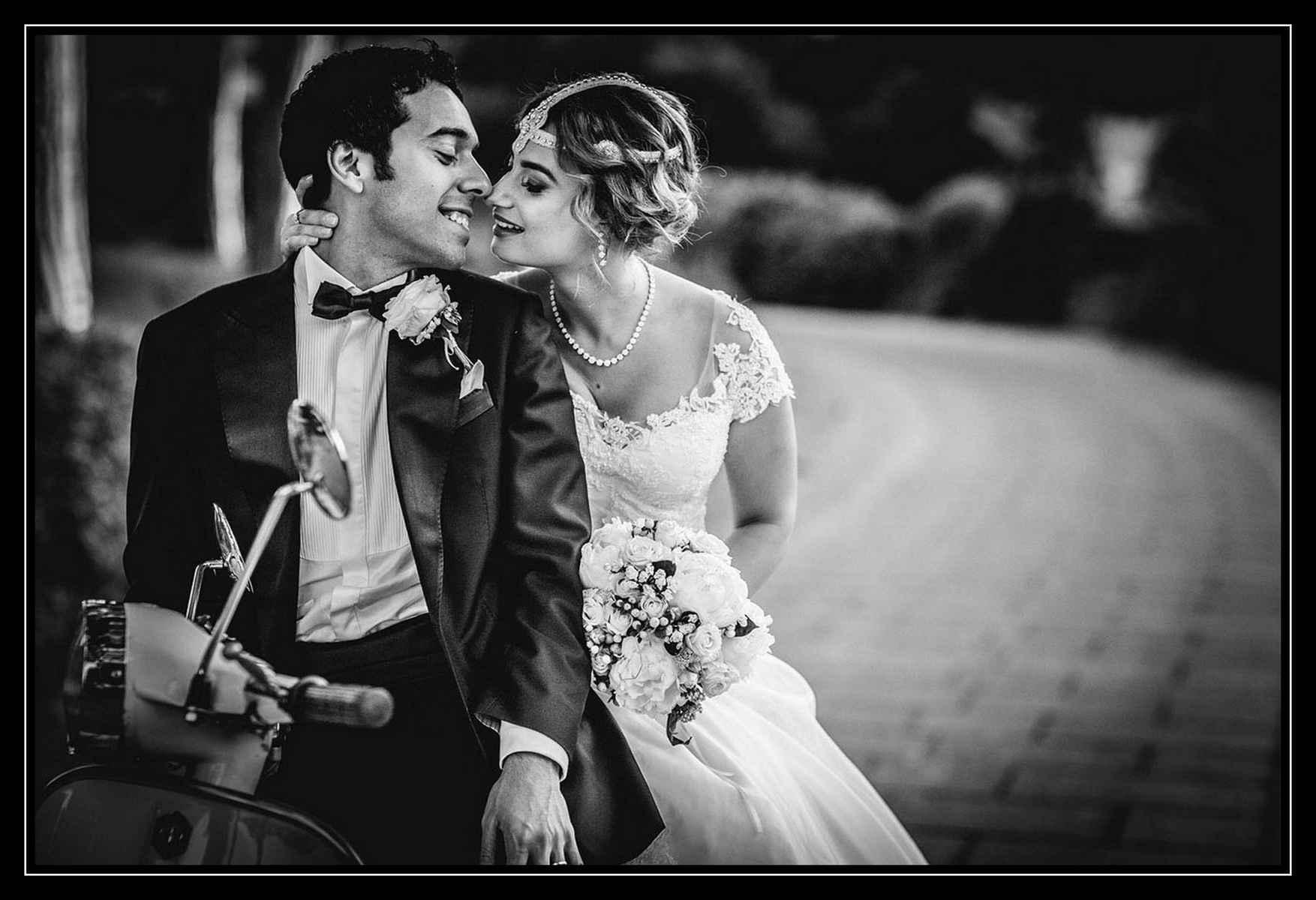 Mariage en scooter